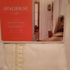 Opalhouse lace curtain (two separate panels)